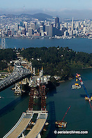 San Francisco Oakland Bay Bridge | Aerial Photography