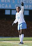 24 November 2007: North Carolina's Nikki Washington. The University of Notre Dame Fighting Irish defeated University of North Carolina Tar Heels 3-2 at Fetzer Field in Chapel Hill, North Carolina in a Third Round NCAA Division I Womens Soccer Tournament game.
