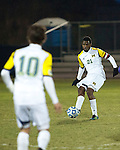 The University of Michigan men's soccer team beat Niagra, 3-1, in first-round NCAA action at the UM Soccer Stadium in Ann Arbor, Mich., on November 15, 2012.