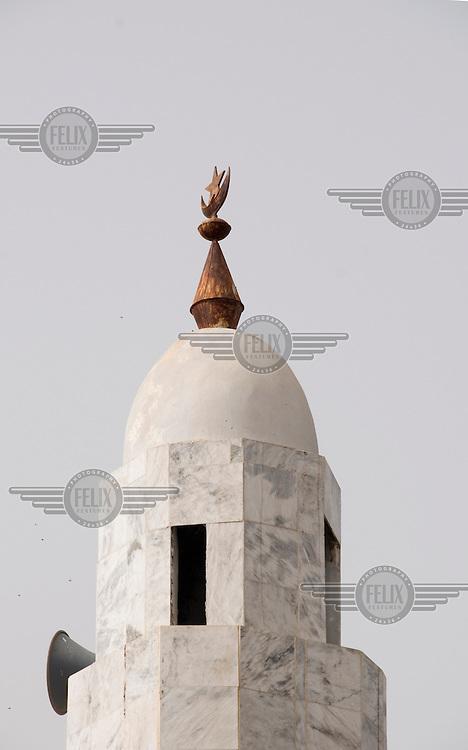 Mosque opposite the Bakoteh lower basic school