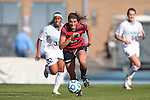 16 November 2013: Liberty's Dawn Elmers (CAN) (23). The University of North Carolina Tar Heels hosted the Liberty University Flames at Fetzer Field in Chapel Hill, NC in a 2013 NCAA Division I Women's Soccer Tournament First Round match. North Carolina won the game 4-0.