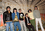 Argentine pop music band Los Babasonicos stand for a photo session  as they released their new album Anoche (Last Night) in Mexico City, March 24, 2006. Anoche is their eight CD album. Photo by Javier Rodriguez
