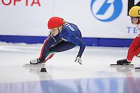 SCHAATSEN: MOSCOW: 14-03-2015, WC Short Track Moscow, ©foto Martin de Jong
