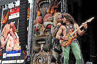 JUN 15 Steel Panther performing at Download Festival