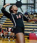 Wesleyan Volleyball vs. Mitchell 9/12/2014
