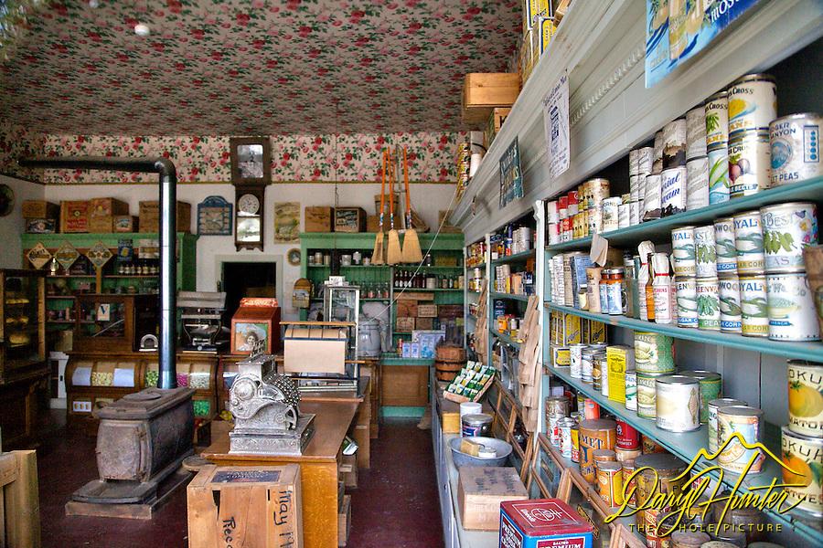 Old store, Virginia City Montana
