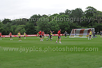 Wales manager Chris Coleman instructs the players during the Wales Open Training Session on Wednesday 1st June 2016 at the Vale Resort, in the Vale of Glamorgan. <br /> <br /> <br /> Jeff Thomas Photography -  www.jaypics.photoshelter.com - <br /> e-mail swansea1001@hotmail.co.uk -<br /> Mob: 07837 386244 -