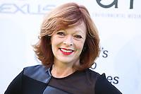 BURBANK, CA, USA - OCTOBER 18: Frances Fisher arrives at the 2014 Environmental Media Awards held at Warner Bros. Studios on October 18, 2014 in Burbank, California, United States. (Photo by Xavier Collin/Celebrity Monitor)