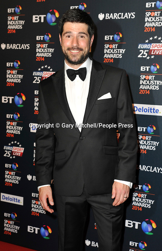 Craig Doyle attends the BT Sport Industry Awards at Battersea Evolution on May 8, 2014 in London, England