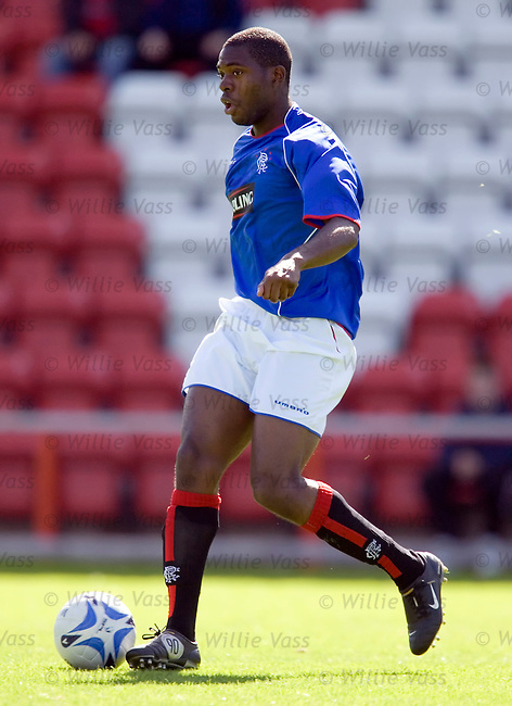 Mark Kalenga, rangers.stock season 2005-2006.pic willie vass
