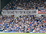 Rangers fans message to the team ahead of Wednesday's UEFA Cup Final in Manchester