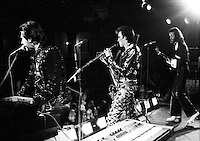 Roxy Music pictured in 1972.  Credit: Ian Dickson/MediaPunch