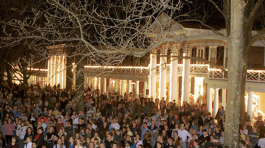 UVa Lawn Lighting Ceremony