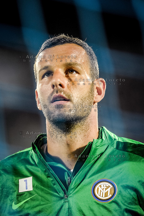 Handanovic Samir (Inter) during the Italian Serie A football match Pescara vs SSC Inter on September 11, 2016, in Pescara, Italy. Photo by Adamo DI LORETO