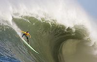 Ion Banner. Mavericks Surf Contest in Half Moon Bay, California on February 13th, 2010.