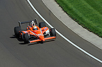 10-18 May 2008, Indianapolis, Indiana, USA. Enrique Bernoldi's Honda/Dallara.©2008 F.Peirce Williams USA.