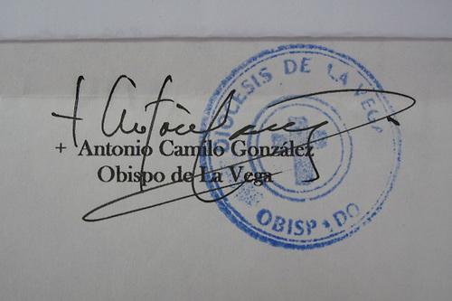 Falsifican firma de obispo para obtener autorización de canalización del Camú
