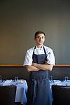 Executive Chef Justin Woodward of Castagna Restaurant in Portland, Oregon