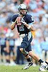 27 October 2012: UNC's Bryn Renner. The University of North Carolina Tar Heels played the North Carolina State University Wolfpack at Kenan Memorial Stadium in Chapel Hill, North Carolina in a 2012 NCAA Division I Football game. UNC won the game 43-35.