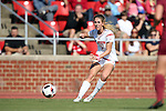 15 October 2016: NC State's Kristina Schuster (GER). The North Carolina State University Wolfpack hosted the Florida State University Seminoles at Dail Soccer Field in Raleigh, North Carolina in a 2016 NCAA Division I Women's Soccer match. FSU won the game 1-0.