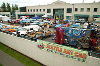 Art Cars at the 40th Annual Fremont Fair.