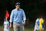 27 September 2014: UNC head coach Johnathan Atkeison. The University of North Carolina Tar Heels hosted the University of Virginia Cavaliers at Hooker Field in Chapel Hill, NC in a 2014-15 USA College Rugby match. North Carolina won the game 27-12.
