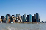 New York City, New York: Skyline of New York lower manhattan post 9-11.  .Photo #: ny213-14623.Photo copyright Lee Foster, www.fostertravel.com, lee@fostertravel.com, 510-549-2202.
