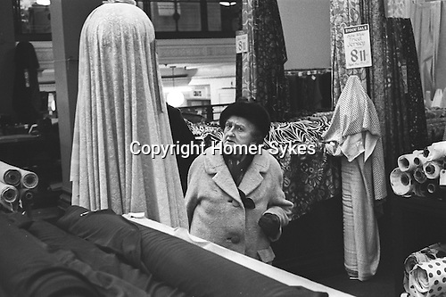 Derry and Toms the department store in Kensington High Street London 1968.