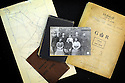 BROCKLESBY WW1 CASE STUDY. FAMILY PHOTO FROM 1915 WITH OTHER MEMORABILIAR.