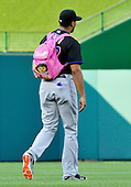 New York Mets pitcher Pedro Beato (27) walks to the bullpen prior to the game against the Washington Nationals at Nationals Park in Washington, D.C. on Saturday, July 30, 2011.  .Credit: Ron Sachs / CNP.(RESTRICTION: NO New York or New Jersey Newspapers or newspapers within a 75 mile radius of New York City)