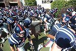 Ole Miss takes the field vs. Auburn at Vaught-Hemingway Stadium in Oxford, Miss. on Saturday, October 13, 2012.