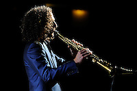 APR 22 Kenny G performs in concert at the Eventim Apollo
