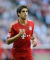 FUSSBALL   1. BUNDESLIGA  SAISON 2012/2013   7. Spieltag FC Bayern Muenchen - TSG Hoffenheim    06.10.2012 Javi , Javier Martinez (FC Bayern Muenchen)