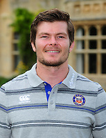 Guy Lewis poses for a portrait at a Bath Rugby photocall. Bath Rugby Media Day on August 24, 2016 at Farleigh House in Bath, England. Photo by: Patrick Khachfe / Onside Images
