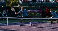 Mariusz FYRSTENBERG (POL) & Marcin MATKOWSKI (POL) against Bon BRYAN (USA) & Mike BRYAN (USA) in the Quarter Finals of the men's doubles. Fyrstenberg & Matkowski beat Bryan & Bryan 6-2 6-2..International Tennis - 2010 ATP World Tour - Sony Ericsson Open - Crandon Park Tennis Center - Key Biscayne - Miami - Florida - USA - Wed 31st Mar 2010..© Frey - Amn Images, Level 1, Barry House, 20-22 Worple Road, London, SW19 4DH, UK .Tel - +44 20 8947 0100.Fax -+44 20 8947 0117