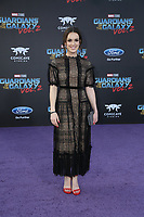 19 April 2017 - Hollywood, California -Elizabeth Henstridge. Premiere Of Disney And Marvel's &quot;Guardians Of The Galaxy Vol. 2&quot; held at Dolby Theatre. <br /> CAP/ADM/PMA<br /> &copy;PMA/ADM/Capital Pictures