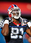 3 September 2009:  Buffalo Bills' wide receiver Terrell Owens warms up prior to a pre-season game against the Detroit Lions at Ralph Wilson Stadium in Orchard Park, New York. The Lions defeated the Bills 17-6...Mandatory Photo Credit: Ed Wolfstein Photo