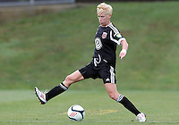 BOYDS, MARYLAND - July 21, 2012:  Joanna Lohman (17) of DC United Women in action against the Virginia Beach Piranhas during a W League Eastern Conference Championship semi final match at Maryland Soccerplex, in Boyds, Maryland on July 21. DC United Women won 3-0.
