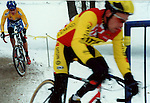 Tim Johnson leads Marc Gullickson,.Supercup Chicago, 2001