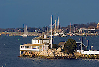 Rhode Island, Newport, yacht club, harbor