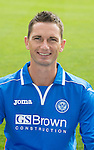 St Johnstone FC 2013-14<br /> Gary McDonald<br /> Picture by Graeme Hart.<br /> Copyright Perthshire Picture Agency<br /> Tel: 01738 623350  Mobile: 07990 594431