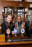 Ben Spray and Dhiran Mehta of the Star pub in Beeston, Nottingham
