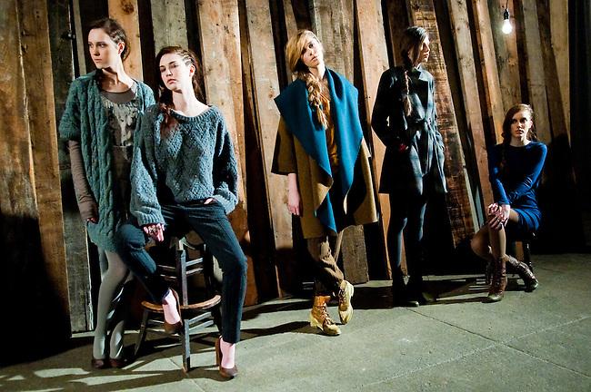 KAELEN <br /> Mercedes Benz Fashion Week F/W 2011<br /> New York City <br /> <br /> Client: Cutler Salon