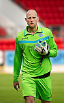 St Johnstone v Real Valladolid....07.08.10  Pre-Season Friendly.Trialist keeper Peter Enckelman.Picture by Graeme Hart..Copyright Perthshire Picture Agency.Tel: 01738 623350  Mobile: 07990 594431