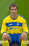 St Johnstone FC...Season 2011-12.Ricky McIntosh.Picture by Graeme Hart..Copyright Perthshire Picture Agency.Tel: 01738 623350  Mobile: 07990 594431