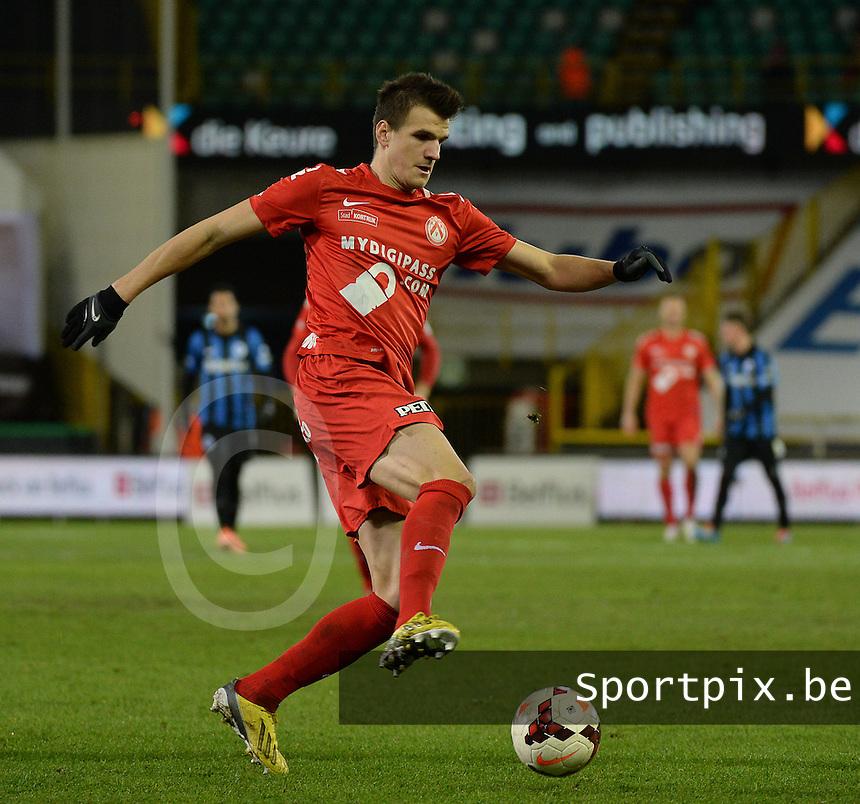 Club Brugge KV - KV Kortrijk : Ivan Santini <br /> foto VDB / BART VANDENBROUCKE