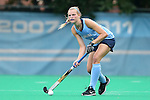 12 September 2014: North Carolina's Halle Frain. The University of North Carolina Tar Heels hosted the Syracuse University Orange at Francis E. Henry Stadium in Chapel Hill, North Carolina in a 2014 NCAA Division I Field Hockey match. UNC won the game 3-0.