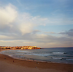 Bondi Beach at sunset, Sydney, NSW, Australia