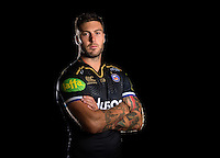 Matt Banahan poses for a portrait in the 2015/16 European kit during a Bath Rugby photocall on September 8, 2015 at Farleigh House in Bath, England. Photo by: Patrick Khachfe / Onside Images