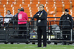 20 October 2014: Haiti head coach Shek Borkowski (POL). The United States Women's National Team played the Haiti Women's National Team at RFK Memorial Stadium in Washington, DC in a 2014 CONCACAF Women's Championship Group A game, which serves as a qualifying tournament for the 2015 FIFA Women's World Cup in Canada. The U.S. won the game 6-0.